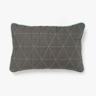 diamond-pillowcase-charcoal-mint