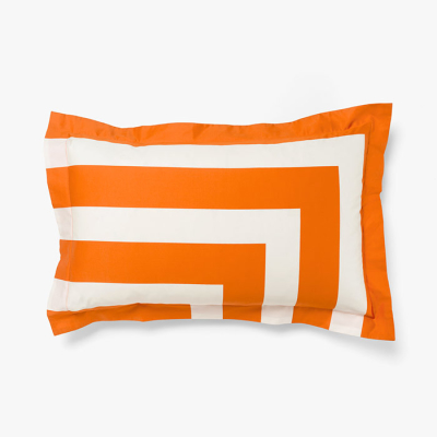 corner-stripe-pillowcase-orange-poppy