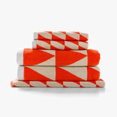 kolmio-towel-pack-fiery-coral