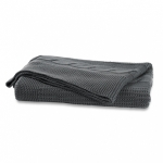 charcoal-cable-knit-throw