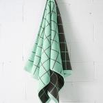 latticebathtowelcharcoal-bath sheet
